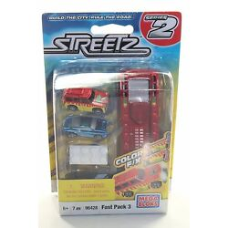 Kyпить MEGA BLOKs Streetz Fast Pack Series 2 SET 96428 Color F/X race car jeep mini NEW на еВаy.соm