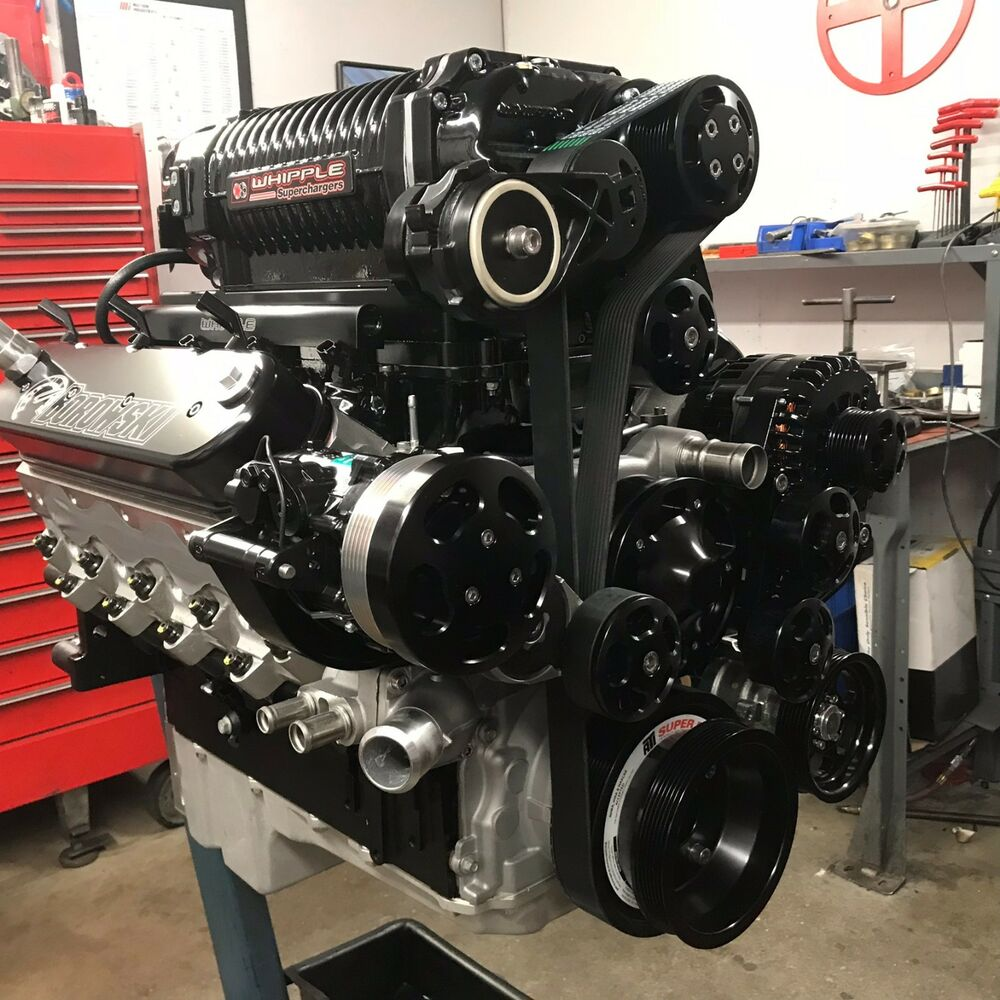 427 Ci Crate Engine, 1,140 HP, Dart LS Next Block, Whipple