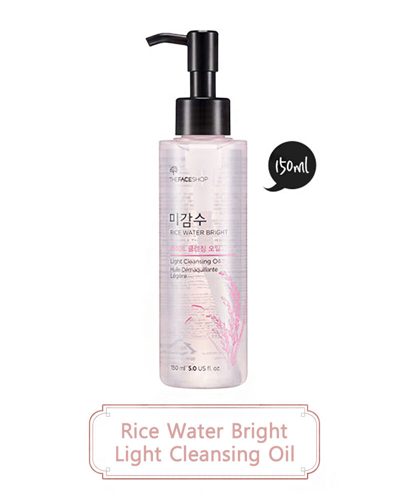 NEW THE FACE SHOP - Rice Water Bright Cleansing Light Oil