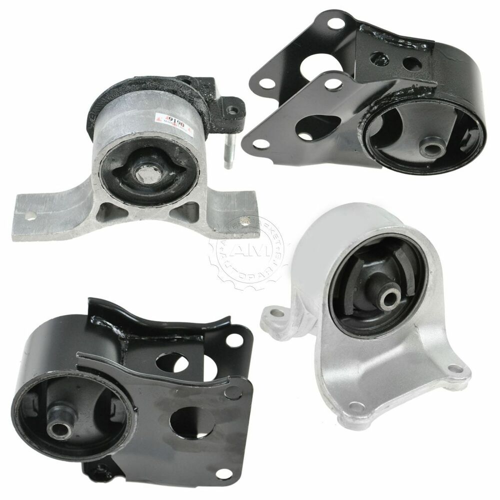 Engine Motor Transmission Mount Set Kit Of 4 For 02 06 Altima 2 5l Auto Ebay