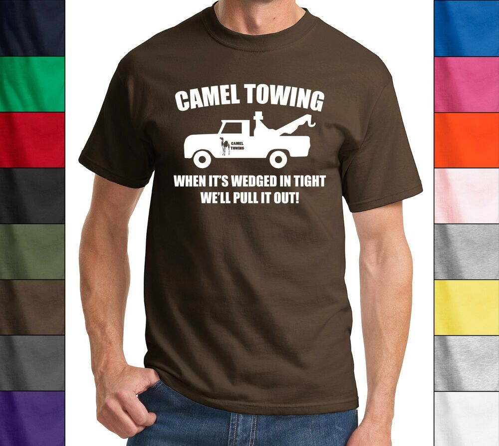 Camel Towing Funny T Shirt Adult Humor Rude Gift Tee Shirt ...