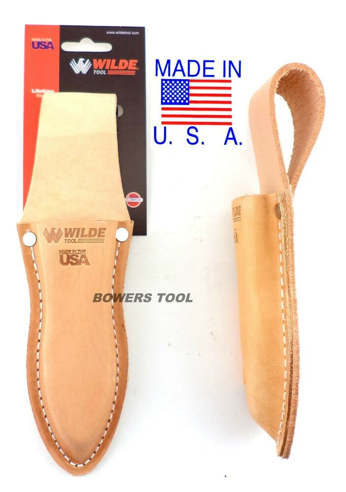 Wilde Tool Professional Leather Plier Pouch Heavy Duty