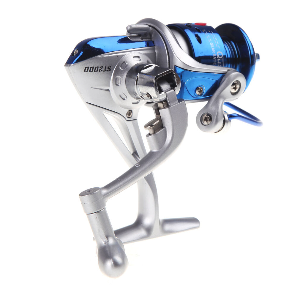 8bb left right fishing spinning reel st2000 5 1 1 spool for How to reel in a fish