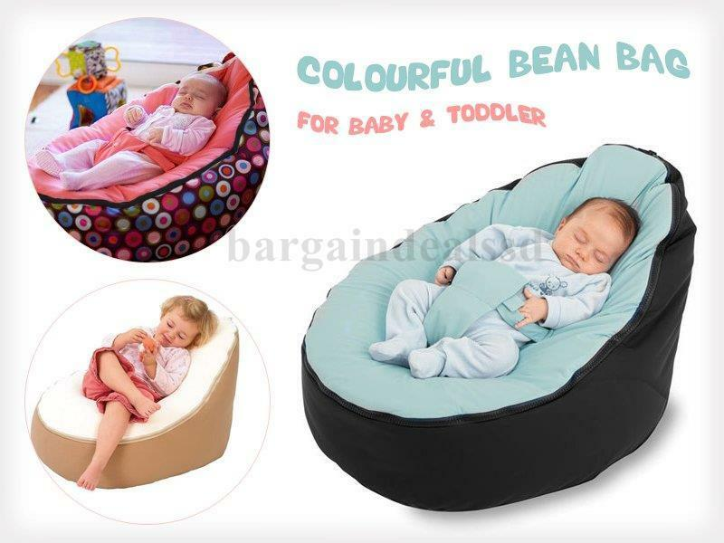 Unfilled Baby Bean Bag Portable Chair Bed Nursery For