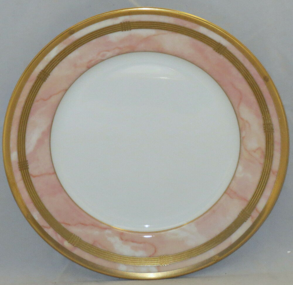 christian dior gaudron marbre rose dinner plate ebay. Black Bedroom Furniture Sets. Home Design Ideas