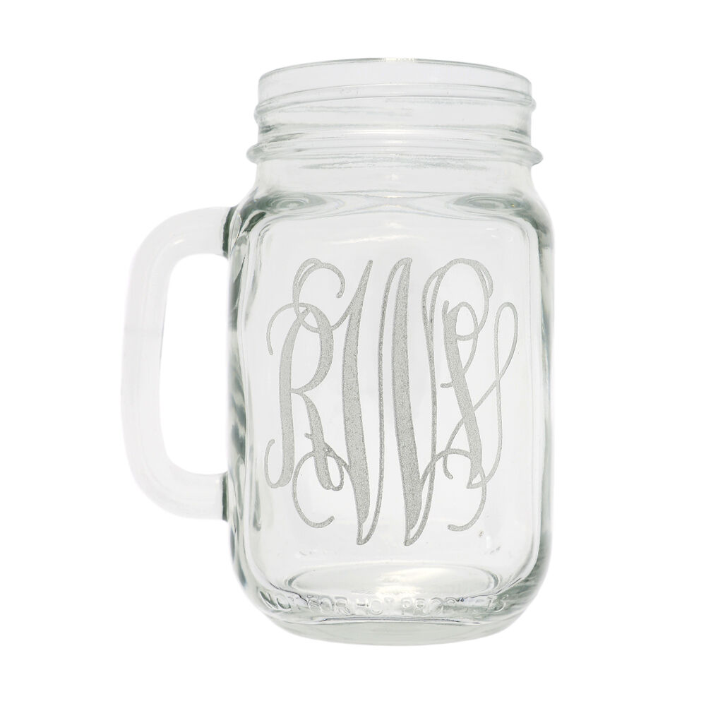 Wedding Party Glass Gift Etched Engraved Personalized