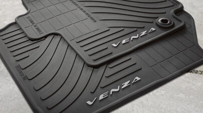 Toyota Venza 2013 2014 Rubber All Weather Floor Mat Set