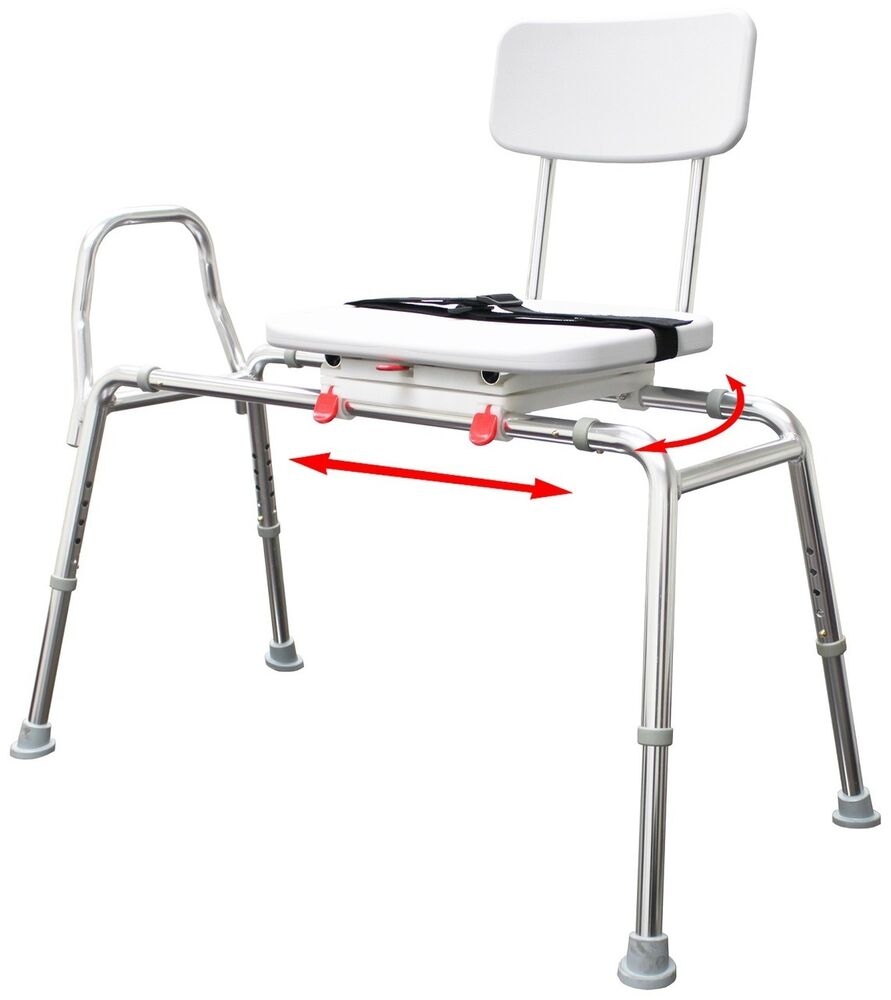 Eagle Healthcare Transfer Bench With Swivel Seat And Back