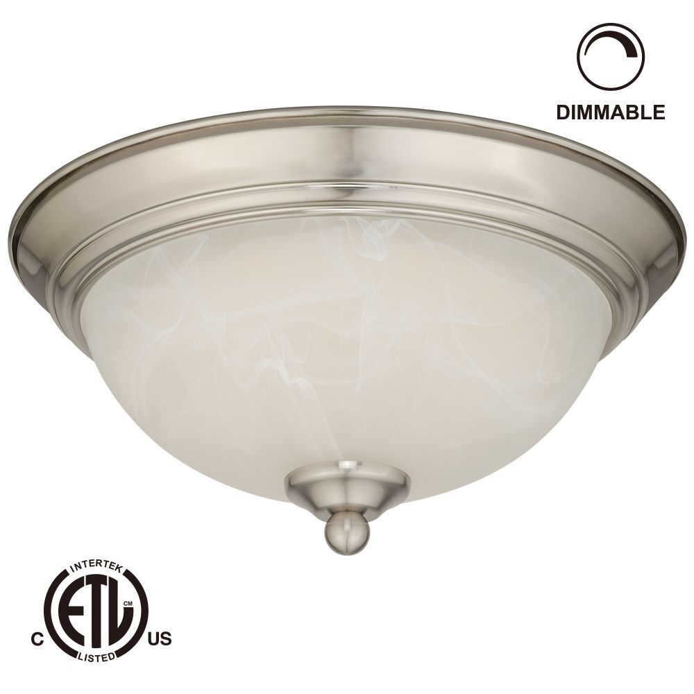 12w 11 Inch Led Flush Mount Ceiling Light Dimmable Led Ceiling Light Fixtures Ebay