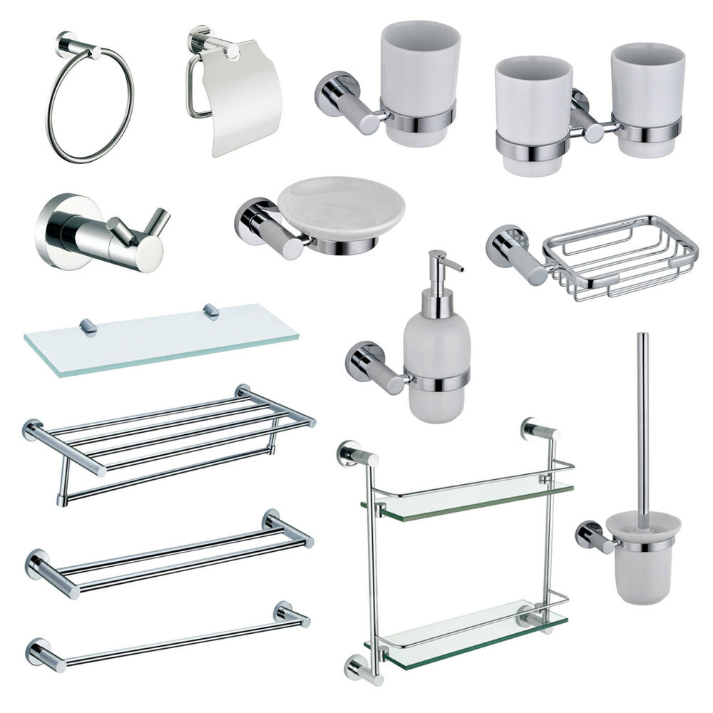 Chrome toilet accessories 072755 ontwerp for Bathroom accents