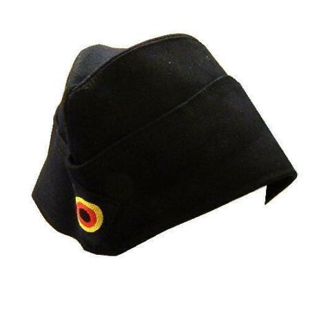 img-German Navy Naval side Cap, military issue naval cap with roundel ~ New XLarge