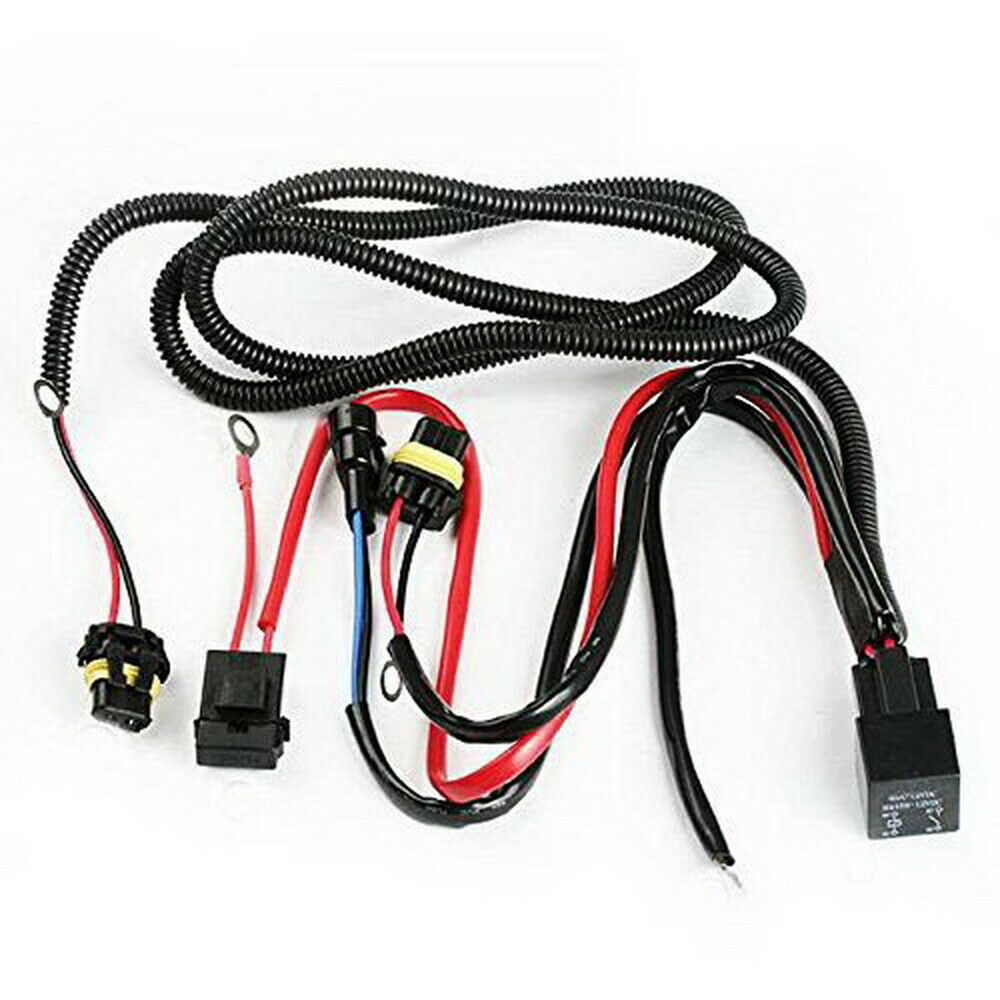 9005 9006 H10 9145 H7 H11 Hid Conversion Kit Relay Wire Harness Adapter Wiring