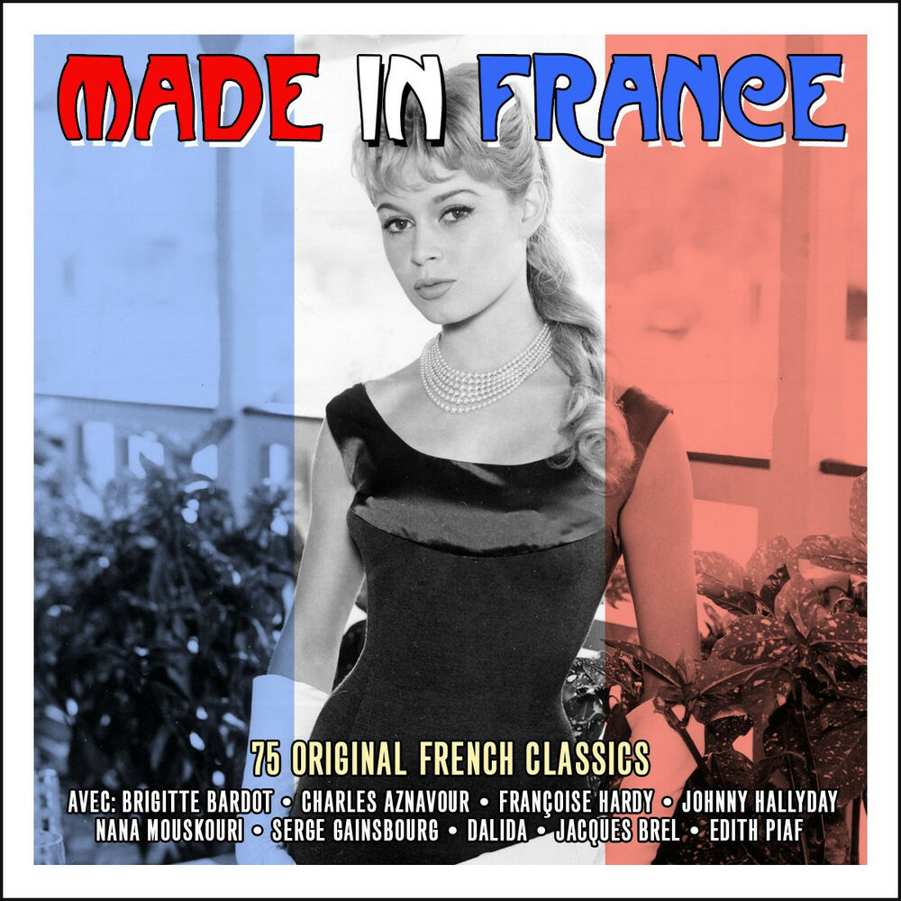 made in france 75 original french classics best music collection new sealed 3 cd 5060342021618. Black Bedroom Furniture Sets. Home Design Ideas