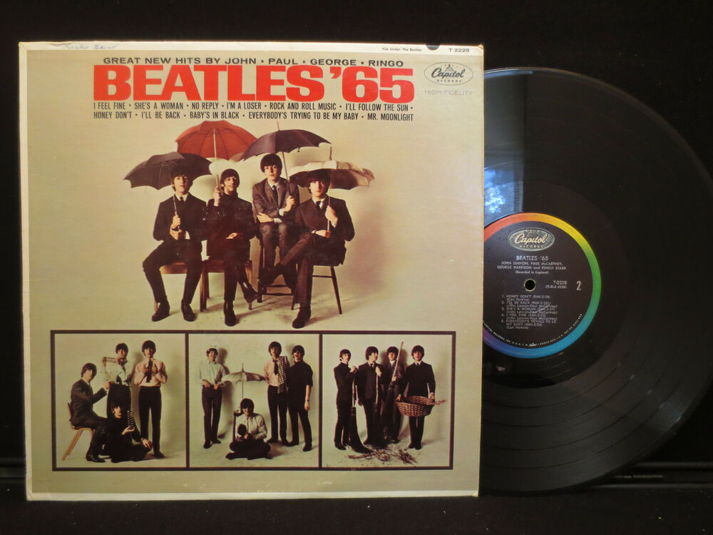 The Beatles Beatles 65 On Capitol T 2228 Mono 12 Quot Lp Ebay