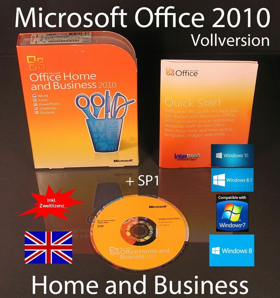 microsoft office home and business 2010 vollversion. Black Bedroom Furniture Sets. Home Design Ideas