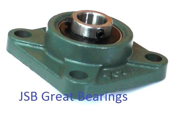 3 4 Square Bore Bearings : Quality square flange quot ucf pillow block