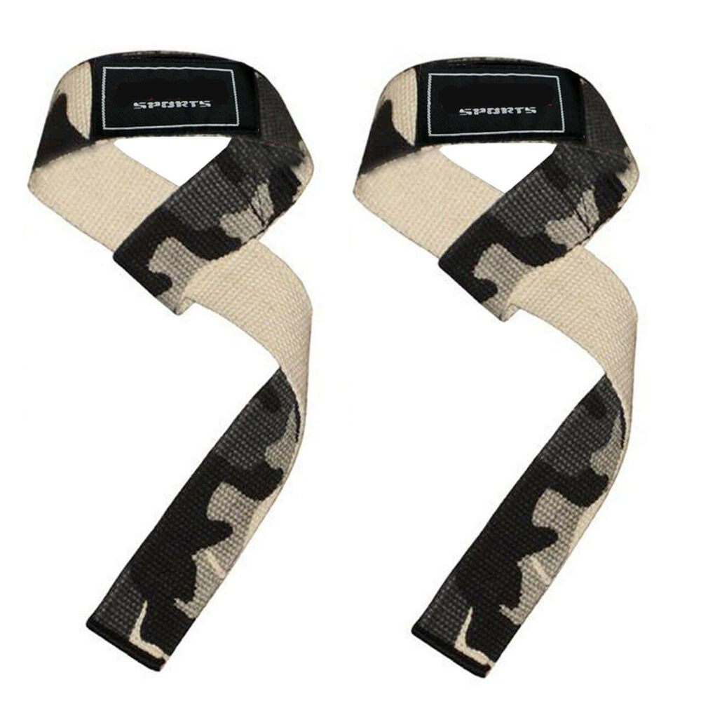 Rdx Leather Weight Lifting Grips Training Gym Straps: Leather Bar Gripper Grips Hooks Straps Weight Lifting