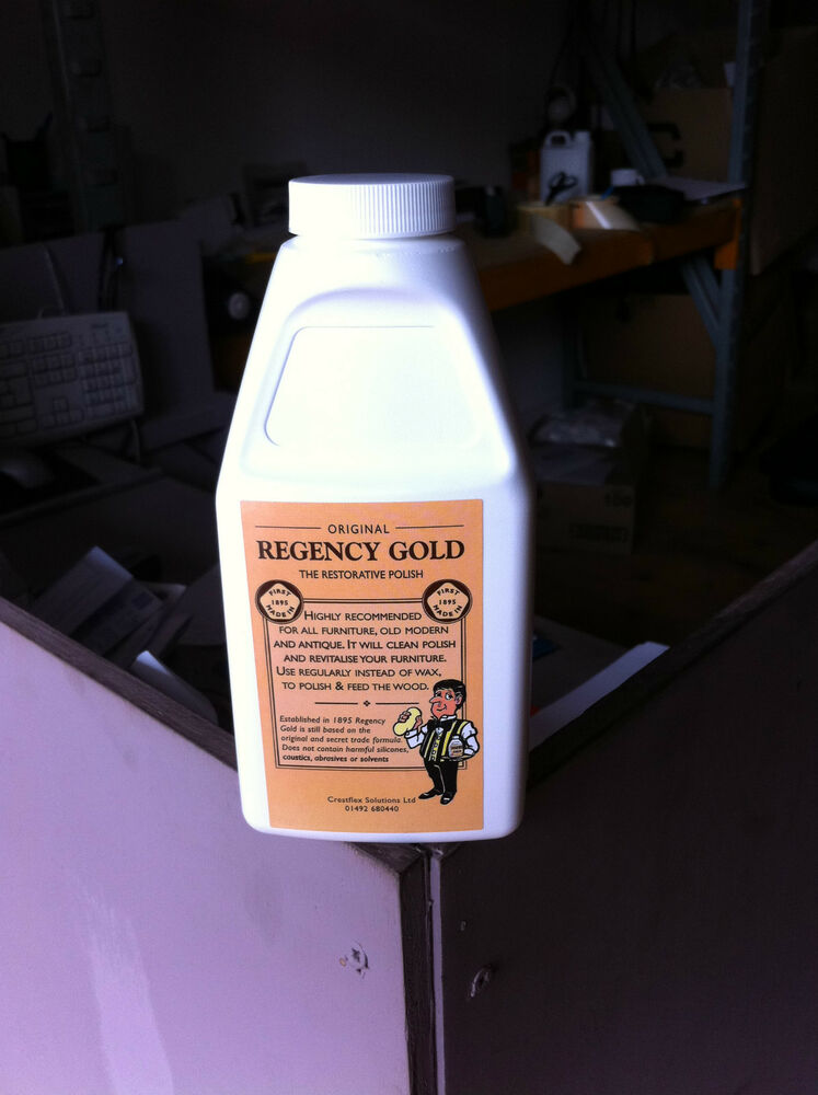Regency Gold Wood Furniture Polish Removes Heat Marks Ebay