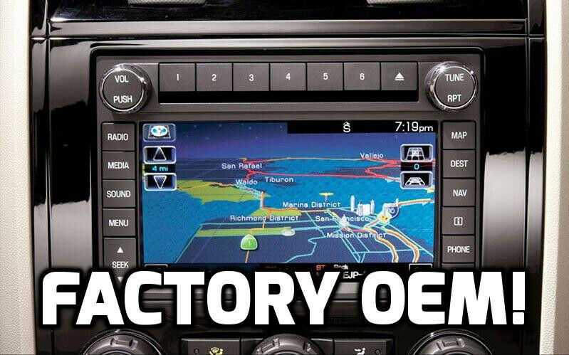 factory stock oem ford sync cd dvd player mp3 gps. Black Bedroom Furniture Sets. Home Design Ideas