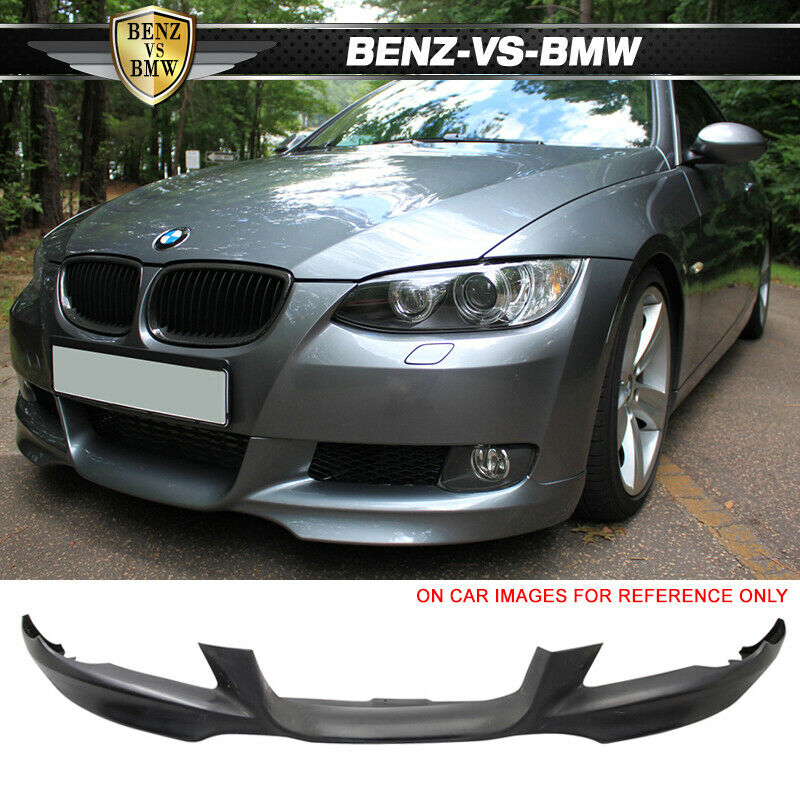 07 10 bmw e92 e93 only 3 series front bumper lip spoiler bodykit pp ebay. Black Bedroom Furniture Sets. Home Design Ideas