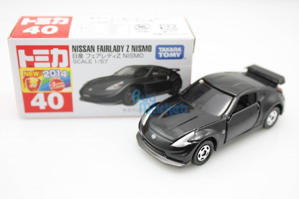 new tomica takara tomy 40 nissan fairlady z nismo scale 1. Black Bedroom Furniture Sets. Home Design Ideas