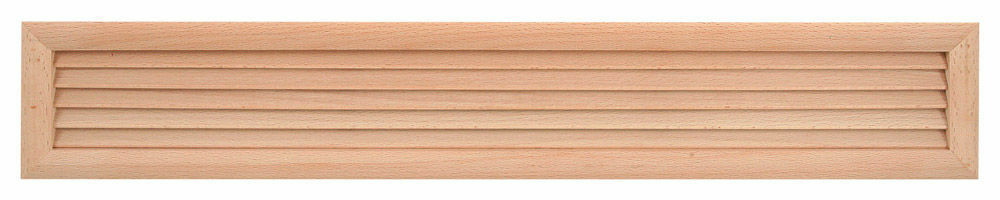 Wood Door Vent Grille : Wood air vent grille cover mm quot wooden
