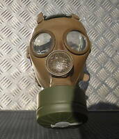 Genuine Belgium M51 Green Gas Mask and New Sealed Filter / Canister.