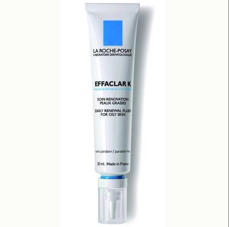 la roche posay effaclar k daily renewal fluid for oily. Black Bedroom Furniture Sets. Home Design Ideas