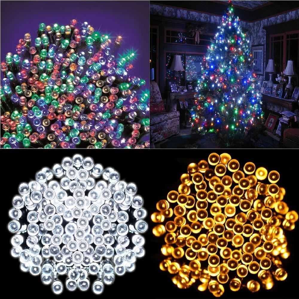 FESTIVE MULTI ACTION LED FAIRY STRING LIGHTS CHRISTMAS ...