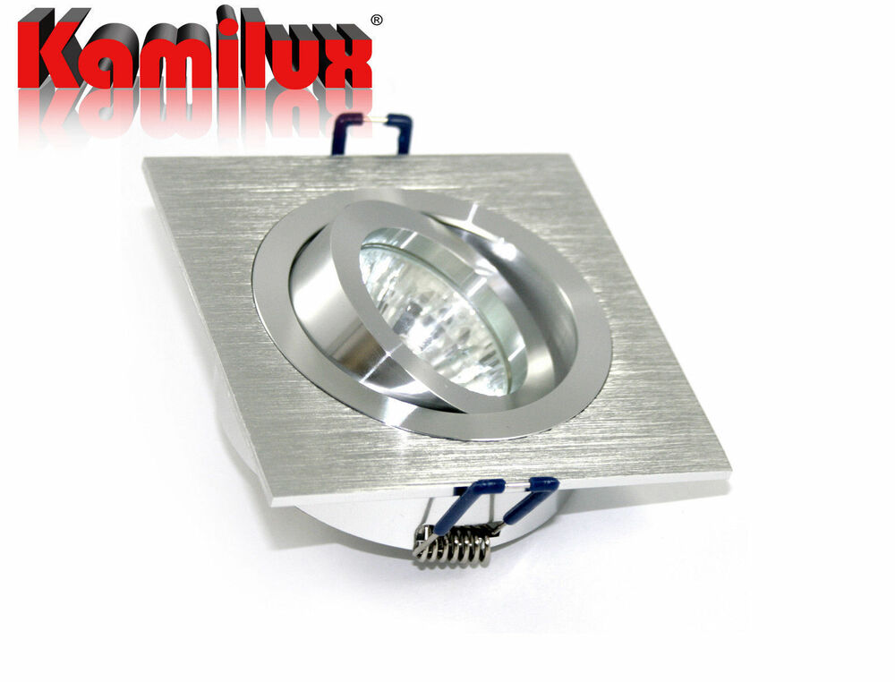 12v 230v bad einbauleuchte kanto hochwertig downlight f r halogen oder led ebay. Black Bedroom Furniture Sets. Home Design Ideas