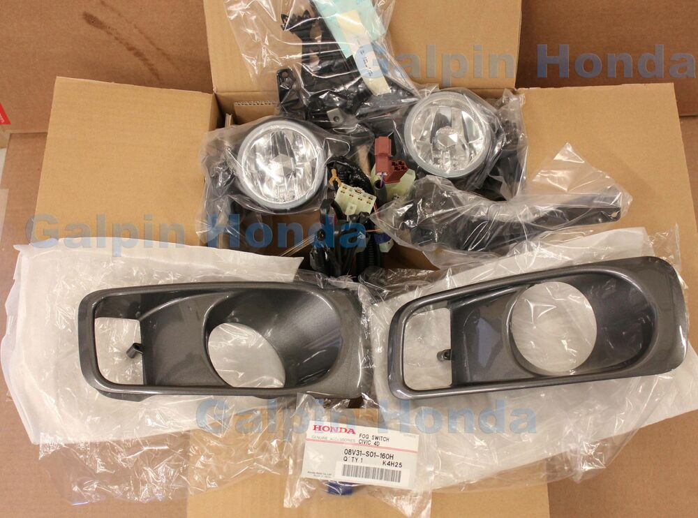 Genuine Oem Honda Civic Fog Light Kit 1999