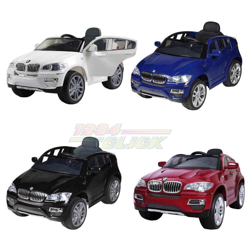 New Electric Battery Kids Ride On Car Bmw X6 Parental