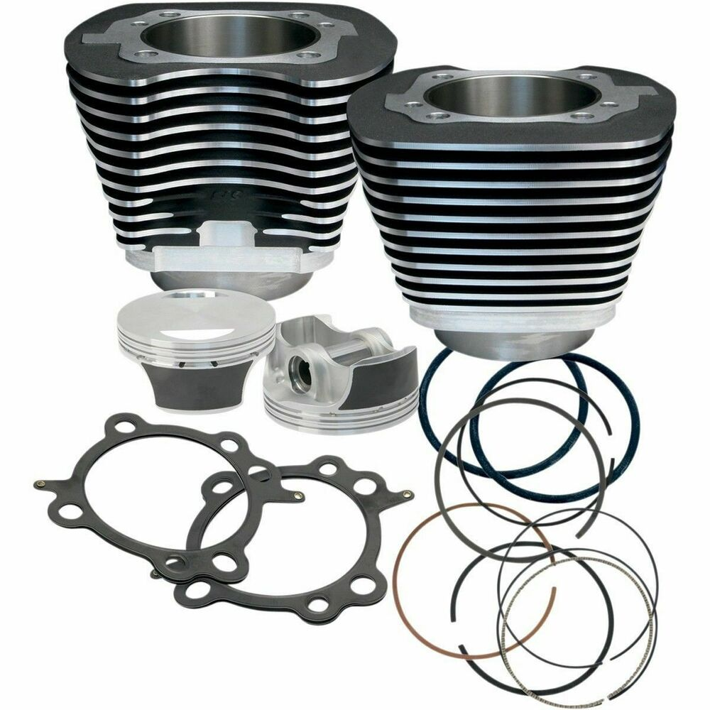 s s cycle 106 big bore engine pistons cylinders kit. Black Bedroom Furniture Sets. Home Design Ideas