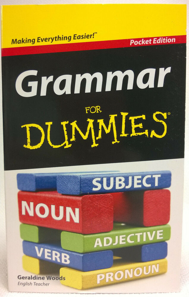 Grammar for dummies learn english writing proofreading