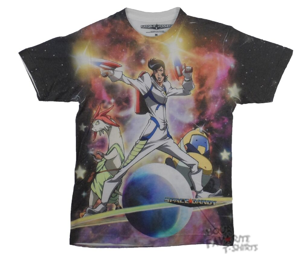 space dandy character saturn anime sublimation licensed