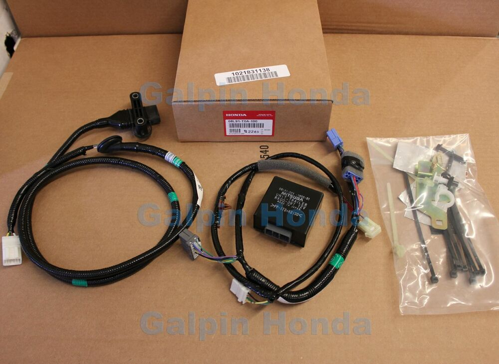 Genuine Oem Honda Cr-v Trailer Hitch Harness 2012