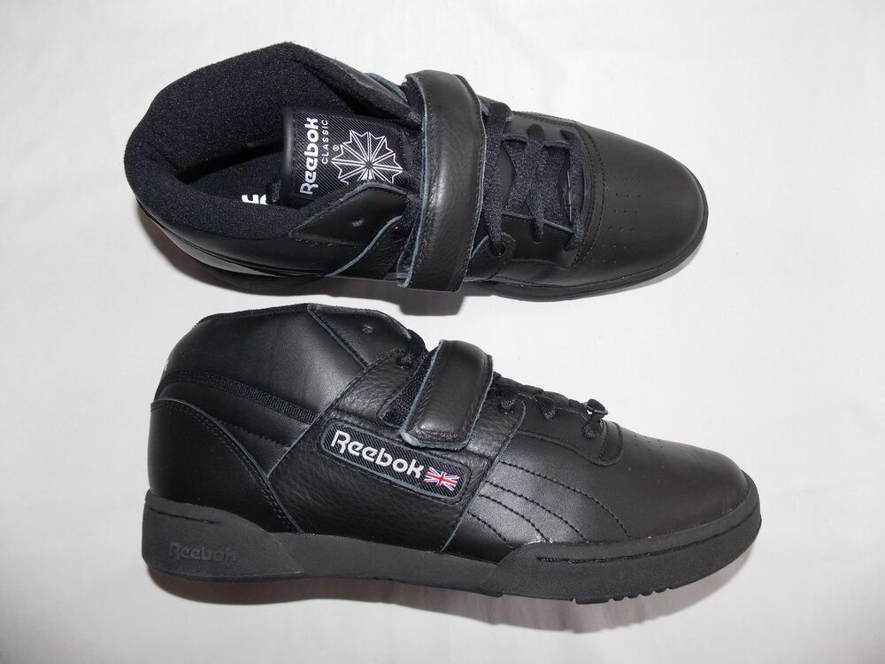 reebok mens workout mid shoes sneakers new v56108