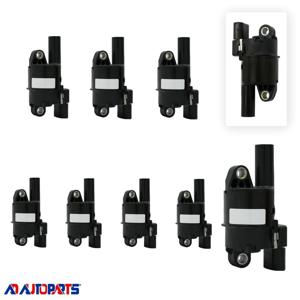 Oem Premium High Performance Ignition Coil Set  8  For Ls2