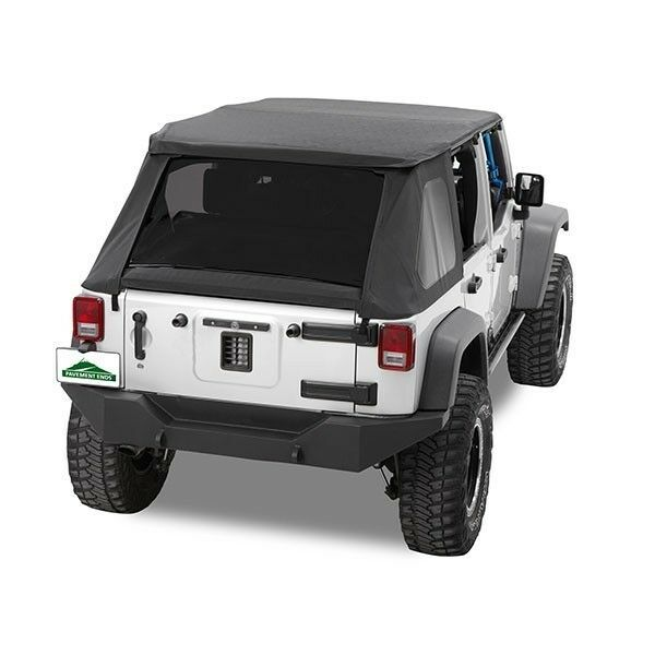 Pavement Ends Sprint Top Tinted Windows 07 09 Jeep