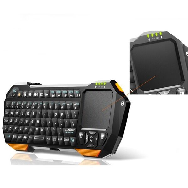 Bluetooth Keyboard For Android Price: Mini Portable Wireless Bluetooth Keyboard Mouse Touchpad For Android IOS Windows