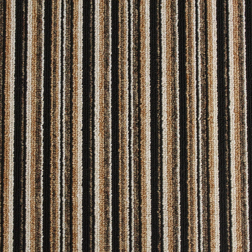 High quality brown striped loop pile felt back carpet for What is the best quality carpet