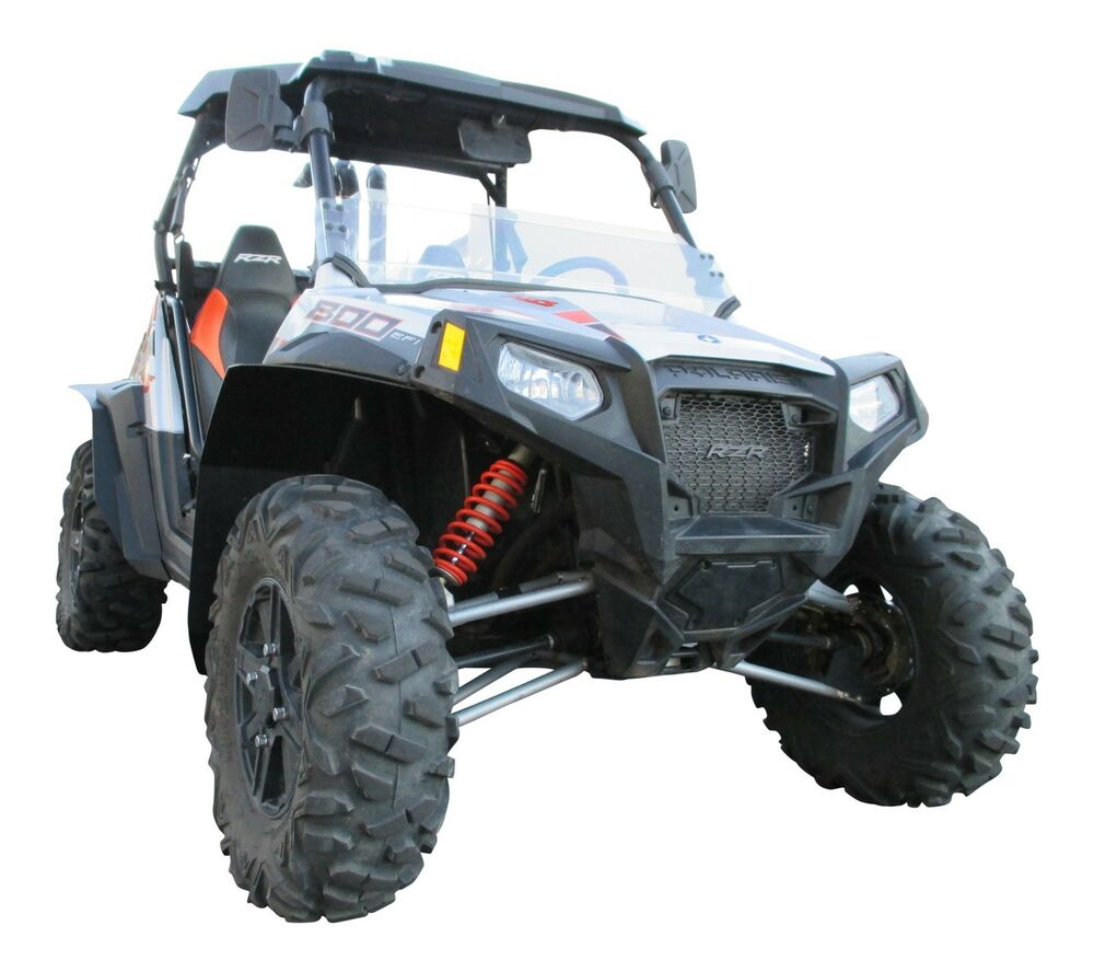 polaris rzr s 800 utv fender flares mud flaps by mudbusters rzr ebay. Black Bedroom Furniture Sets. Home Design Ideas