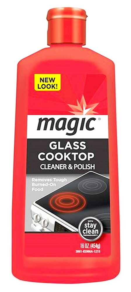 Glass Cooktop And Ceramic Range Cream Cleaner Polish