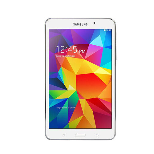 samsung galaxy 7 tab 4 sm t230nzwaxar white 8gb android 4. Black Bedroom Furniture Sets. Home Design Ideas