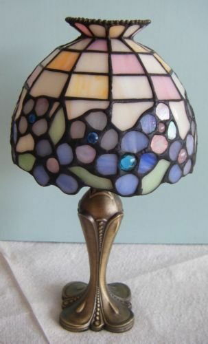 partylite hydrangea tealight candle lamp ebay. Black Bedroom Furniture Sets. Home Design Ideas