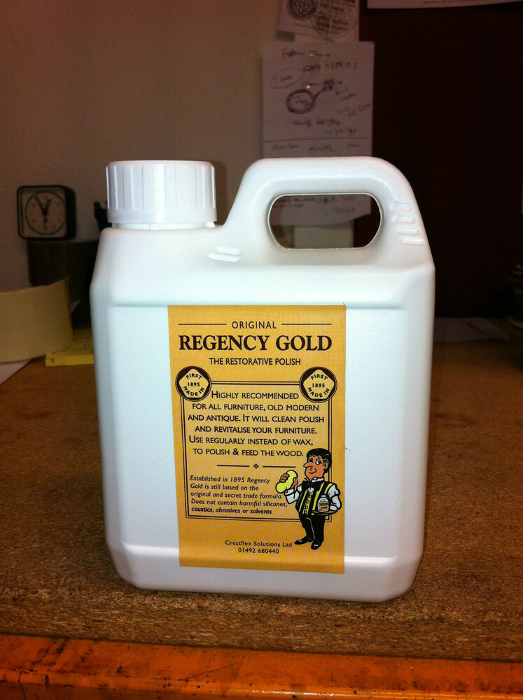 Original Regency Gold Wood Furniture Polish Removes Heat Marks From Factory Ebay