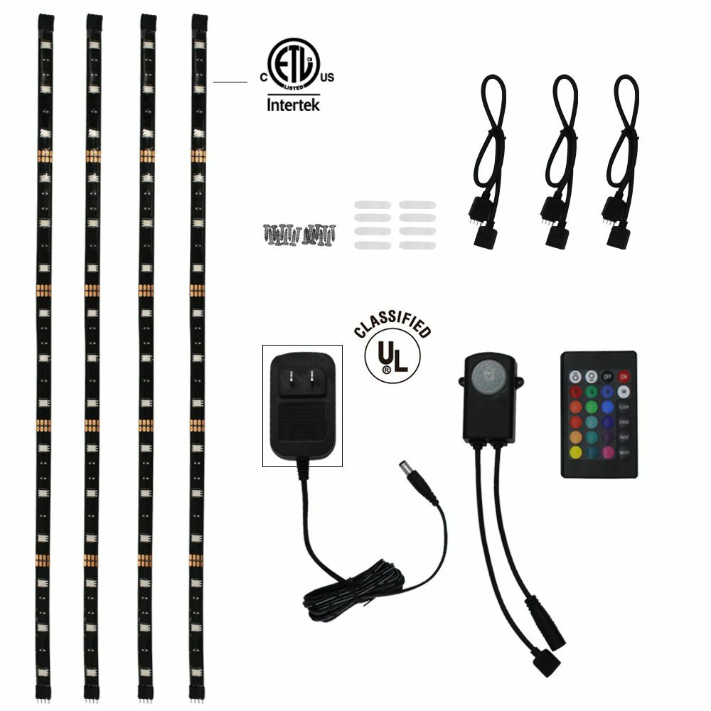 Rgb Led Home Theater Accent Lighting Kit Color Changing