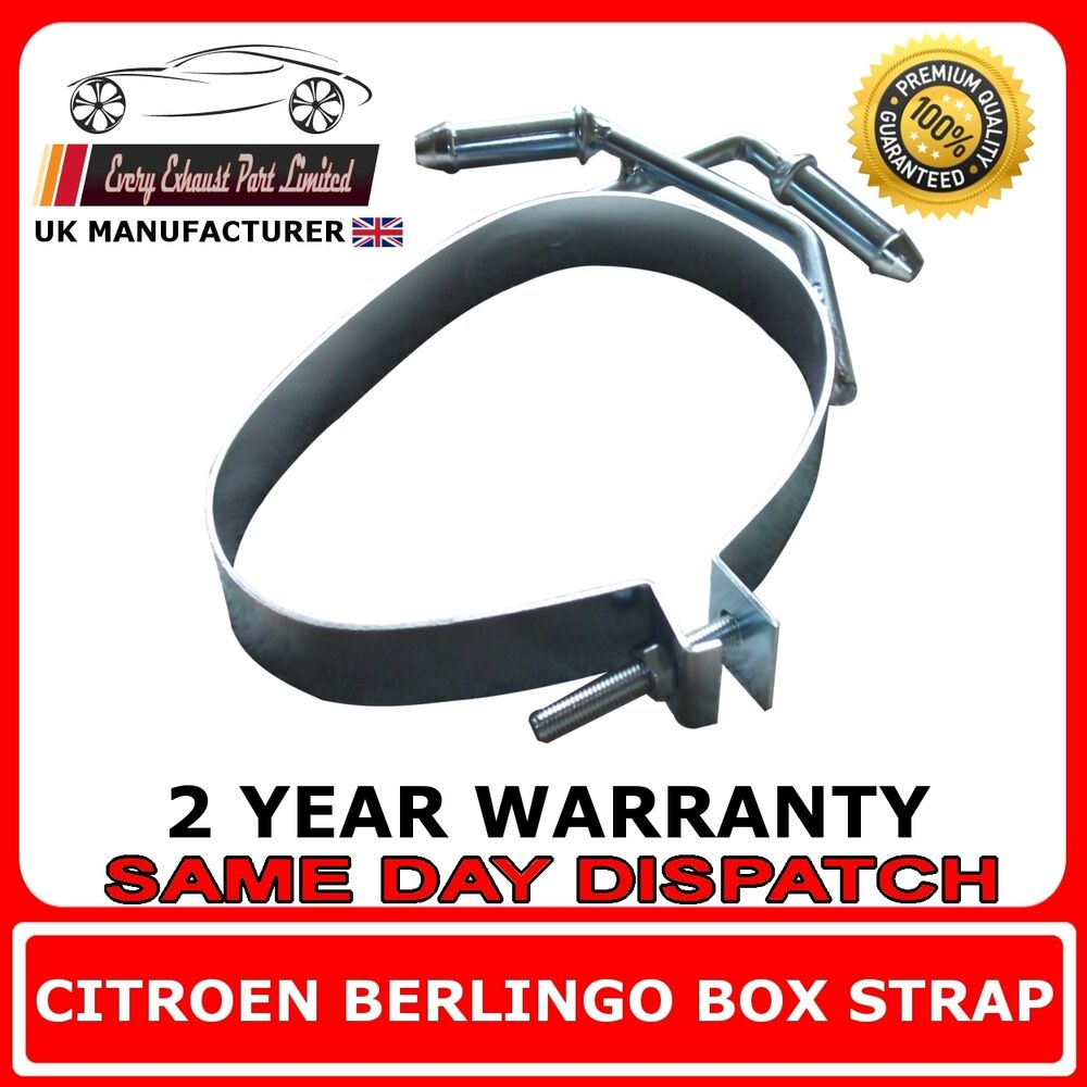 citroen berlingo silencieux arri re chappement bande de sangle support cintre ebay. Black Bedroom Furniture Sets. Home Design Ideas