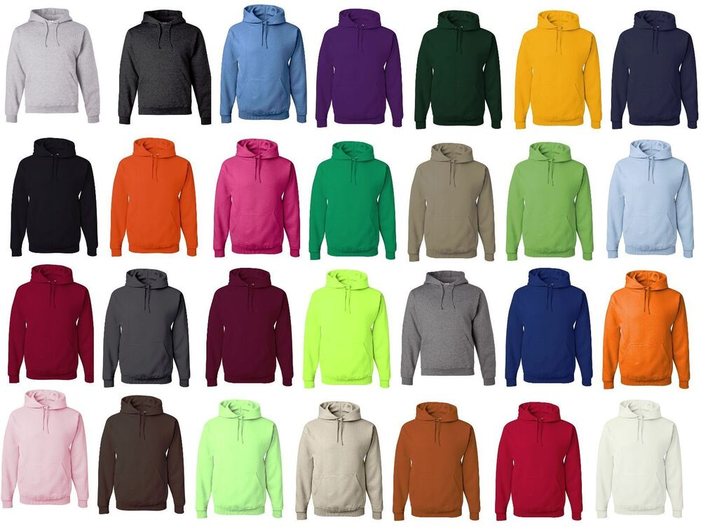 colorful sweatshirt jerzees hoodie 30 colors nublend hooded sweatshirts fleece 9461