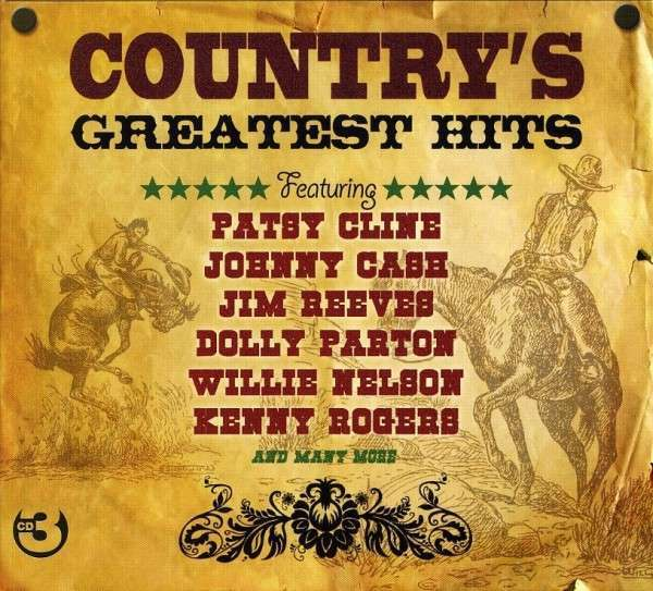 Country's Greatest Hits VARIOUS ARTISTS Best Of 75 Songs